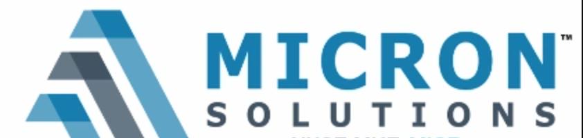 Micron Solutions | Eric Schleien